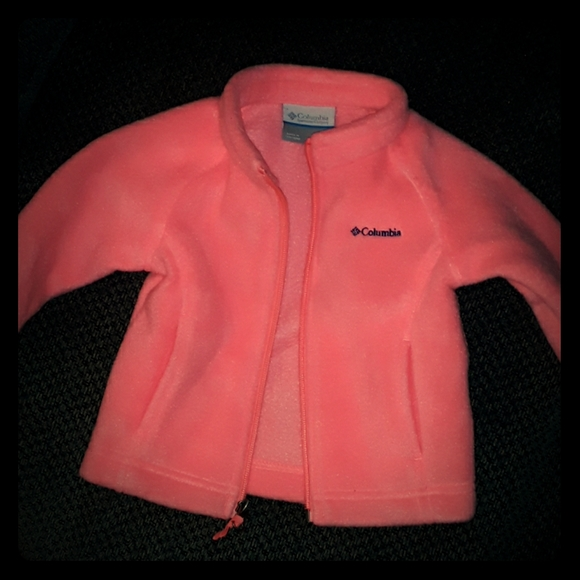 Columbia baby girls jacket size 3-6month